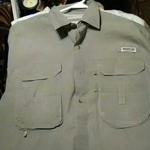 Megallan button up shirt